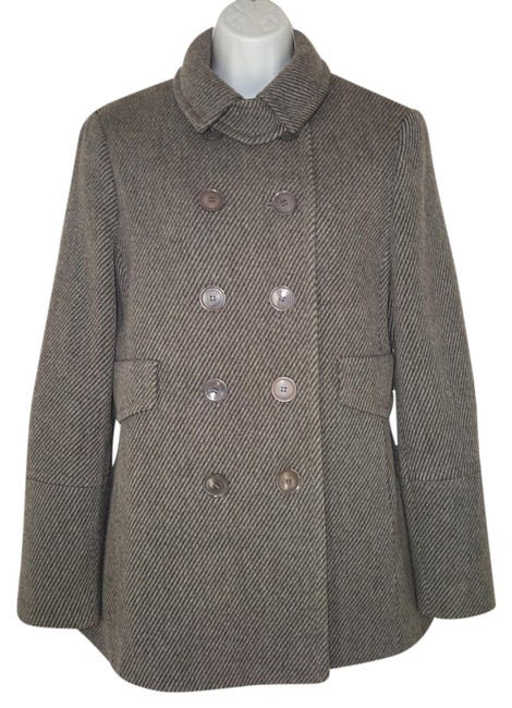 Preload https://img-static.tradesy.com/item/20061322/akris-grey-wool-cashmere-trench-coat-size-8-m-0-1-650-650.jpg