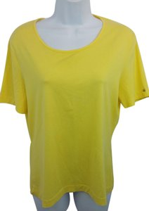 Escada Yellow Cotton Top