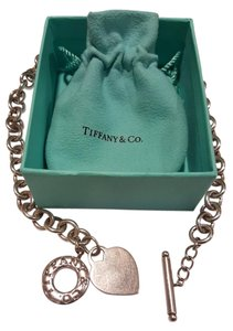 Tiffany & Co. Tiffany and Co. Heart Tag Toggle necklace.