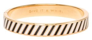 Kate Spade Kate Spade Give It A Whirl Bangle NWT Whrlling Stripes