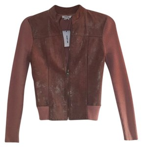 Helmut Lang pink Leather Jacket