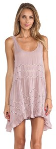Free People short dress Misty Pink Combo on Tradesy