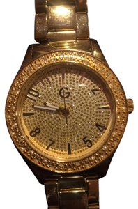 Guess Guess gold-tone showstopping presence watch