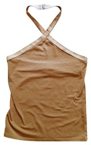 FREE's shop brown Halter Top