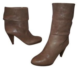 J.Crew Leather Ankle light brown Boots