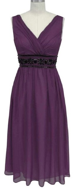 Katherine Styles short dress Purple Chiffon on Tradesy