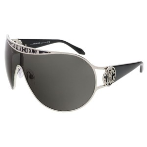 Roberto Cavalli Roberto Cavalli Ruthenium/Grey Snakeskin Single-Lens Mask sunglasses