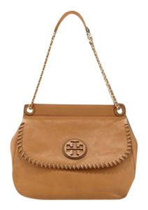 Tory Burch Flap Saddle Chain Marion Shoulder Bag