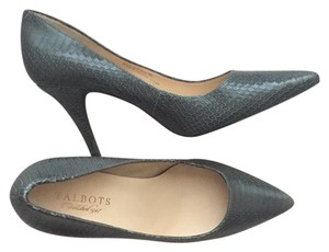 Talbots Gray Pumps