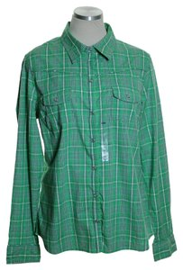 Old Navy Button Down Shirt Green