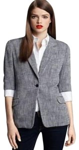 Elizabeth and James Tweed Blue White Blazer