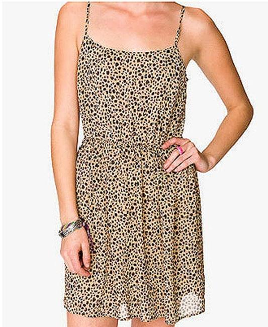 Forever 21 short dress Mini Chiffon F21 Animal Print on Tradesy