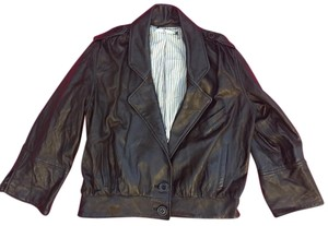 Mike & Chris Large Leather Jacket