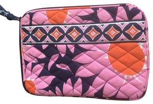Vera Bradley Wristlet in Pink, Orange, White, Navy