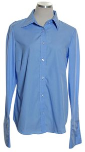 Izod Button Down Shirt Blue