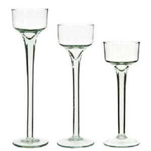 48 Elegant Long Stem Candle Holders (16 - 3 Pc Sets)
