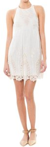 Dolce Vita short dress Ivory Multi Lace Embroidered Petticoat Embroidery Dv Wedding on Tradesy
