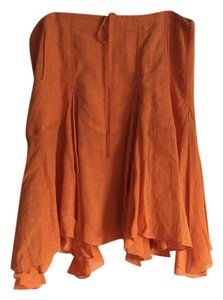 Max Studio Skirt Orange