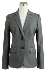 J.Crew Wool Super 120's Gray Blazer
