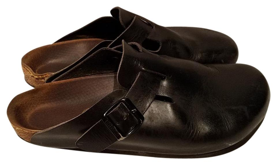 WOMENS Birkenstock Black Boston 41 introduced Mules/Slides New varieties are introduced 41 d37fc6