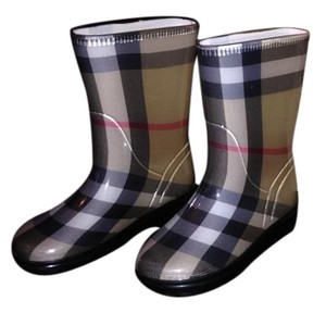 Burberry Children's Plaid Boots