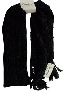 OlsenBoye Olsenboye Soft Shimmer Black Fringed Fall & winter Scarf