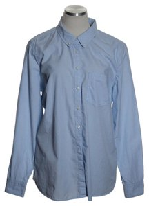 Gap Button Down Shirt Blue