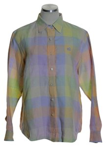 Lauren Ralph Lauren Button Down Shirt Multi-color
