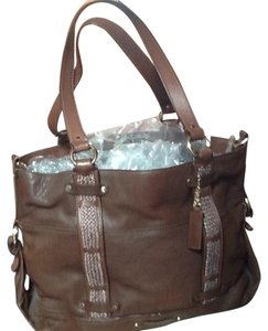 Cole Haan Satchel in CHESTNUT BROWN