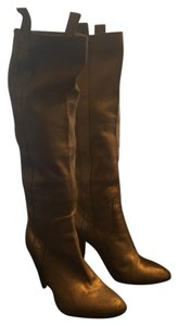 L'Autre Chose Metallic gold Boots