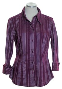 Gitano Button Down Shirt Purple