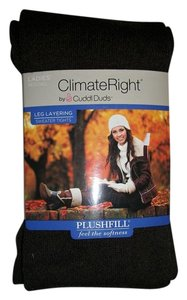 Cuddl Duds ClimateRight Cuddl Duds Brown Sweater Tights Size Medium