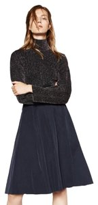 Zara Chic Skirt Navy
