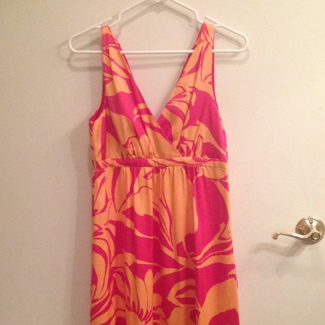 H&M short dress Pink and tangerine on Tradesy Image 1