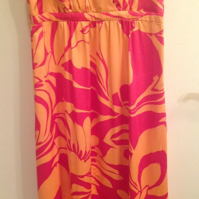 H&M short dress Pink and tangerine on Tradesy Image 2