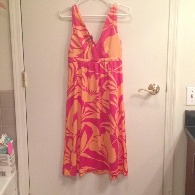 H&M short dress Pink and tangerine on Tradesy Image 5