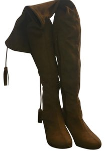 N.Y.L.A. Beige Boots