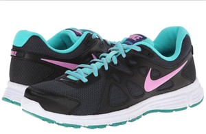 Nike Womens Black Revolution 2 Anthracite/Light Magenta/Black) Athletic