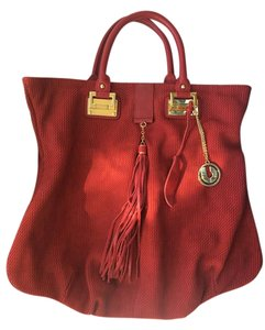 Charles Jourdan Tote in Red