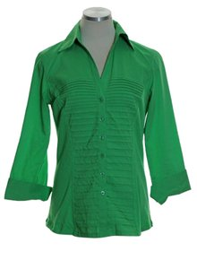 Zac & Rachel Button Down Shirt Green