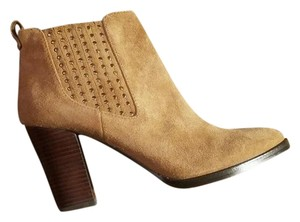 Antonio Melani Camel Leather Boots