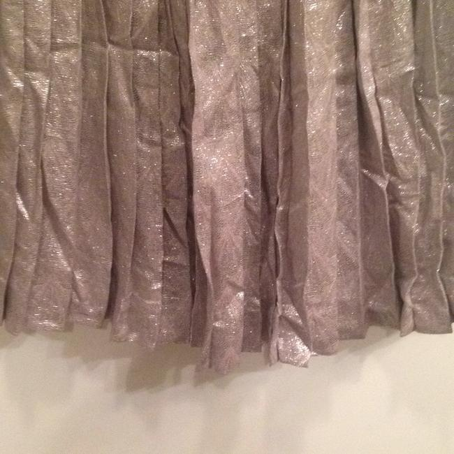Lela Rose Skirt Metallic silver/pewter Image 3