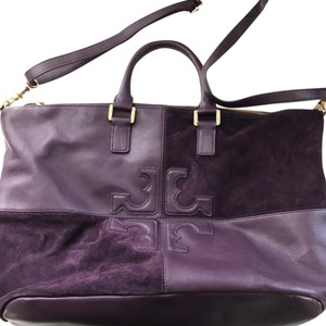 Tory Burch Satchel in Deep Purple