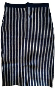ASTR Skirt Navy Stripes