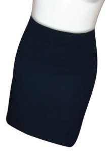 Ibex Pencil Mini Skirt DARK BLUE