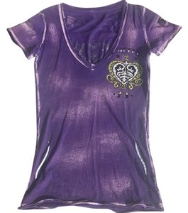 Sinful T Shirt Purple