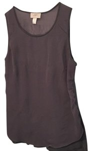 Ann Taylor LOFT Top Grey