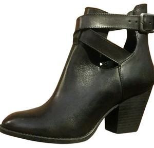 Reba Ankle Western Black Boots