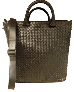Bottega Veneta Woven Tote in Black