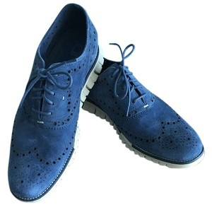 Cole Haan Cornwall Blue Open Holes-Berkeley Blue Formal